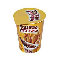 Nutkao Snack Шоколадная паста + хлебные палочки, 52g Италия
