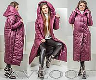Женское молодежное дутое пальто-одеяло. , фото 1