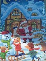 Новогодний Шоколад Адвент календарь 75 г Германия