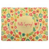 """Коврик придверный """"Hello Spring"""" 38*58см (Арт.R81771)"""