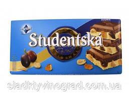 """Молочный шоколад  Orion """"Studentska Pecet"""" Duomix 180 грамм"""