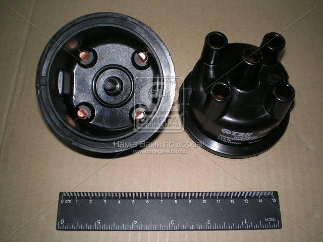 Крышка распределения зажигания ГАЗ 24, УАЗ (код 1.8.6) (литье) (1.8.6) (производство Цитрон) (арт. Р119-3706500)