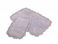 Набор ковриков для ванной Irya - Serra mor сиреневый 60*90+40*60