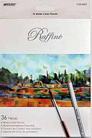"""Набор акварельных карандашей """"Raffine""""  36 цветов"""