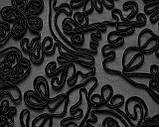 Сетка с вышивкой декоративным шнуром, фото 5
