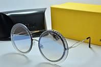 Солнцезащитные очки FENDI 8097 голубые