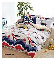 Комплект постельного белья Bella Villa Сатин-фотопринт