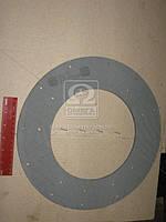 Накладка диска сцепления МТЗ 50, 80, 82, 100 (сверленая) (Производство Трибо) 70-1601138