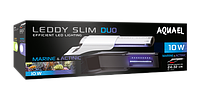 Aquael светильник LEDDY SLIM DUO 10W MARINE & ACTINIC, 20-50 см