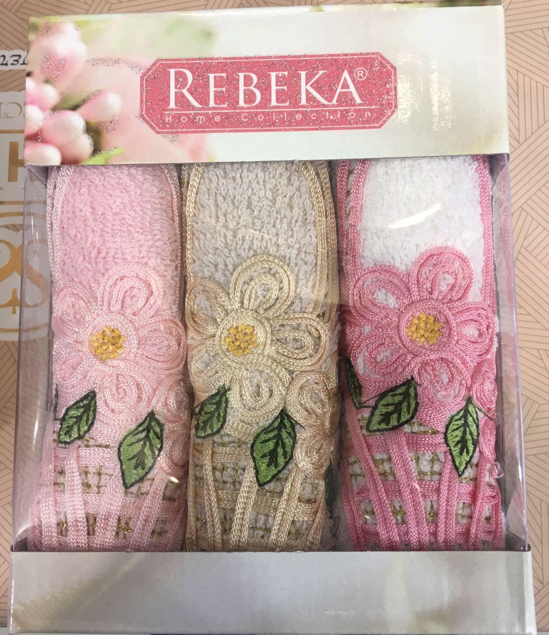 Подарочный набор кухонных полотенец Rebeka № 32427