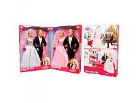 """Семья кукольная Defa Lucy """"Жених и невеста"""", 2 цвета, 8305"""
