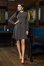 """Короткое ангоровое платье """"Sabrina"""" с длинным рукавом и расклешенной юбкой (5 цветов), фото 3"""