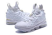Мужские баскетбольные кроссовки Nike LeBron 15 (Platinum)