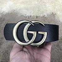 Ремень Belt Gucci GG Marmont Yellow Gold