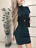 Модное  женское  платье  с коротким рукавом , джерси !, фото 1