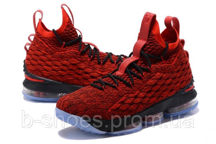 e375cb6900e5 Мужские баскетбольные кроссовки Nike LeBron 15 (Red/Black)