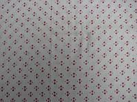 Ткань ситец белый с принтом