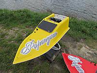 Кораблик для рыбалки 10000, 7.4v, gps, жолтый