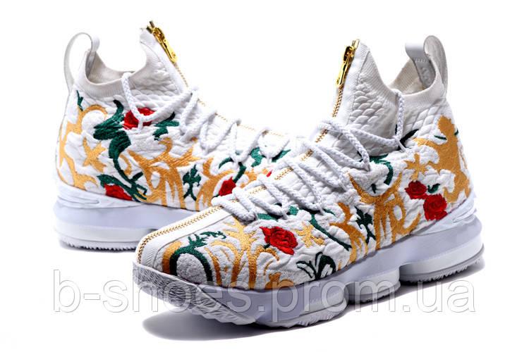 Мужские баскетбольные кроссовки Nike LeBron 15 (Flowers)