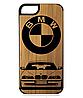 Деревянный чехол на Iphone 7/7s  с лазерной гравировкой BMW E39 - Фото
