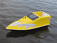 Кораблик для рыбалки 10000, 7.4v, ехолот, жолтый