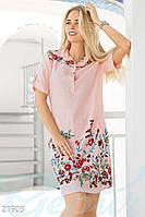 Платье с вышивкой Gepur 21903