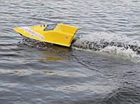 Кораблик для рыбалки 10000, 12v, gps, жолтый