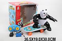 Радиоуправляемый скейтборд с пандой, 2 канала 2.4 ГГц , музыка, аккумулятор, 48888A