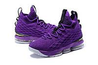 Мужские баскетбольные кроссовки Nike LeBron 15 (Purple)
