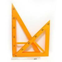 """Треугольник пластиковый """"Гигант"""" 5965 (2 шт.)"""