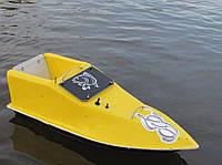 Кораблик для рыбалки 16000, 7.4v, gps, жолтый