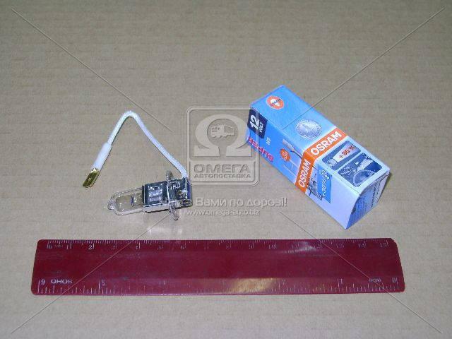 Лампа фарная H3 12V 55W PК22s Super (+30%) (производство OSRAM) (арт. 64151SUP-FS)