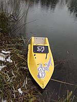 Кораблик для рыбалки 16000, 12v, ехолот, жолтый