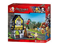 Конструктор SLUBAN легендарные воины, замок, фигурки, 280 деталей, M38-B0615
