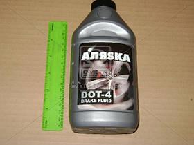 Жидкость тормоз DOТ-4 АЛЯSКА (серебро) 390г 5437