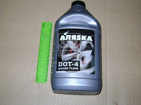 Жидкость тормозная DOТ4 АЛЯSКА (серебро) 750г (арт. 5438)