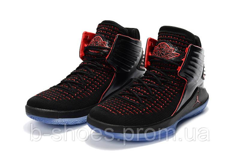 Мужские баскетбольные кроссовки Air Jordan 32 (Black/Red)