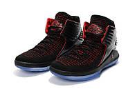 Мужские баскетбольные кроссовки Air Jordan 32 (Black/Red), фото 1