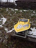 Кораблик для рыбалки 30000, 12v, ехолот, жолтый