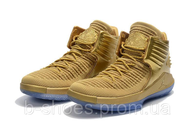 Мужские баскетбольные кроссовки Air Jordan 32 (Gold)