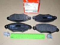 Колодка тормозной CITROEN XSARA, RENAULT KANGOO (KC0/1_) передний (Производство TRW) GDB1321, AEHZX