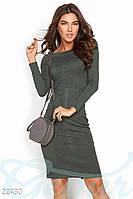 Стрейчевое демисезонное платье Gepur 22430