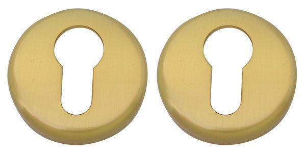 Накладка под цилиндр COLOMBO CD 63 G B матовое золото