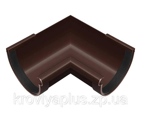 Угол (поворот) желоба внутренний 90° Ø130 (Rainway, Украина), коричневая., фото 2