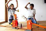 Трек Хот Вилс Разводной мост Hot Wheels Track Builder Stunt Bridge Kit, фото 9