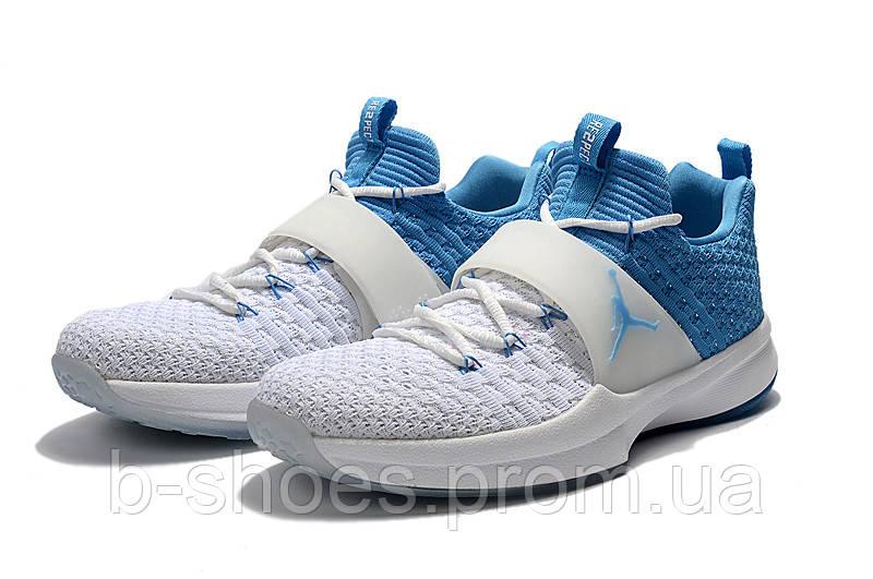Мужские тренировочные кроссовки Air Jordan Trainer Flyknit 2 (Blue/White)