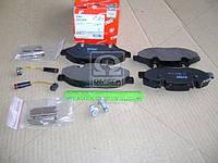 Колодка тормозная MB VIANO (W639), VITO (W639) передн. (производство TRW) (арт. GDB1600), AFHZX