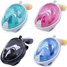 Free Breath маски для взрослых (от 10 лет) для плавания, подводные.