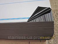 Нержавеющий лист 2х1250х2500мм,  AISI 430(12Х17),  ВА+РЕ  зеркальный