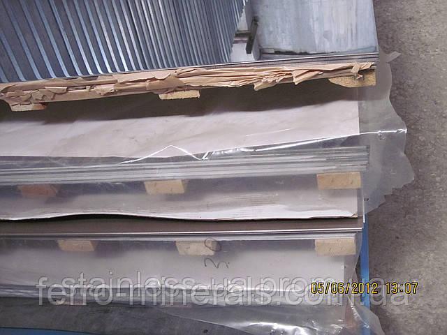 Нержавеющий лист 5х1000х2000мм, AISI 430(12Х17),1D